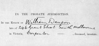 DANSON, William