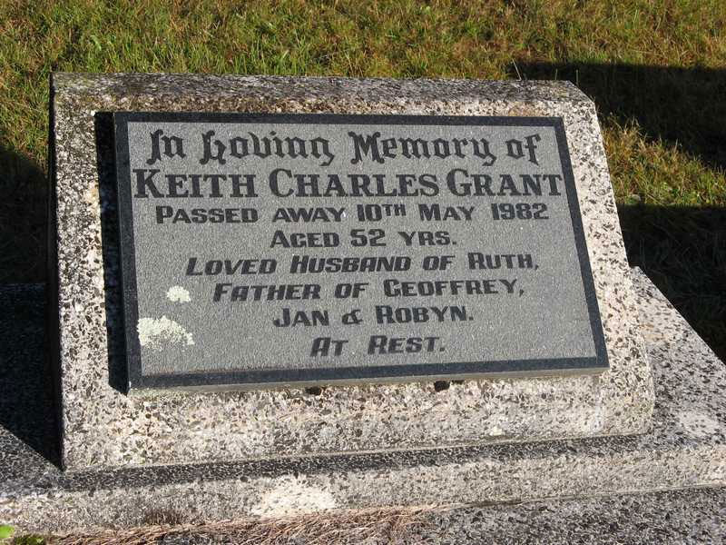 GRANT, Keith Charles