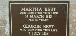 BEST, George & CHAMBERLAIN, Martha