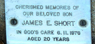 SHORT, James Edwin 'Jamie'