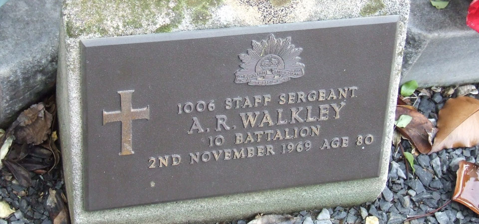 WALKLEY, Alfred Rosorla