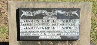 SHORT, James Robert