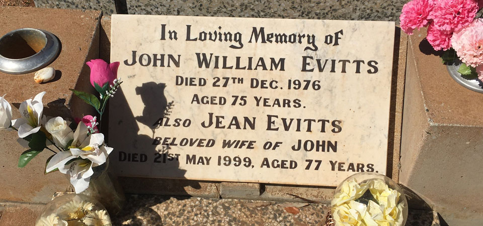 EVITTS, John William