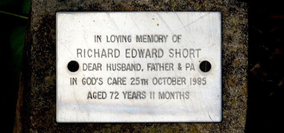SHORT, Richard Edward