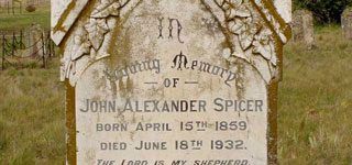 <b>In Loving Memory of John Alexander SPICER</b>