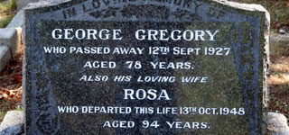 GREGORY, George
