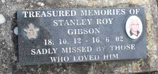 GIBSON, Stanley Roy