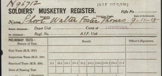 <b>Soldiers Musketry Register - SHORT, Walter Foster Thomas - page 1.jpg</b>