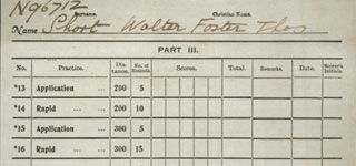 <b>Soldiers Musketry Register - SHORT, Walter Foster Thomas - page 2.jpg</b>