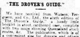 'The Drover's Guide'