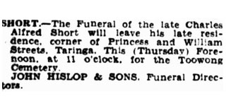 Funeral Notices