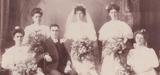 SHORT - ANDREWS Wedding 1908